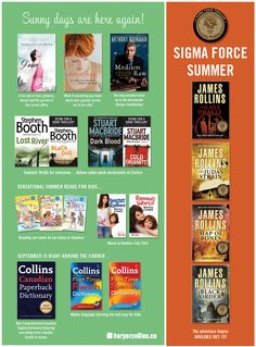 Help brighten up your summer with Costco Summer Reads 2010 featuring favourites such as Fancy Nancy, Ramona and Tish Cohen.