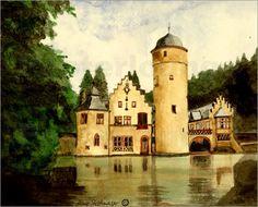 Schloss Mespelbrunn Spessart