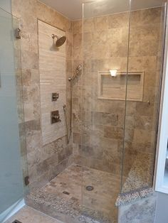 Explore Small Basement Bathroom, Cabin Bathrooms, And More! Bathroom Update  Ideas: To Update A Fibreglass Walk In Shower With Mosaic Tile