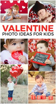 16 Adorable Valentine's Day Photo Opp Ideas day photography Festive and Fun Valentine's Day Photoshoot Ideas for Kids First Valentines Day Baby, Quotes Valentines Day, Valentine Mini Session, Valentine Picture, Valentines Day Pictures, Valentines For Boys, Valentine Day Crafts, Valentine Nails, Valentine Ideas