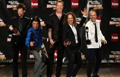 Metallica Rock n Roll Hall of Fame