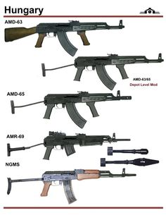 Hungarian assault rifles
