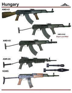 Hungarian assault rifles