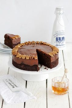 Honey and Chocolate Cake | lil-cookie