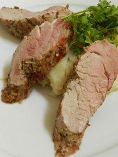 Pork tenderloin with cumin, ginger and garlic