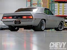 1969 Chevy Yanko Camaro Custom Racing Stripe