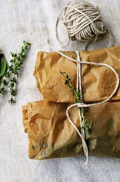 ... easy herb baked wild salmon ...
