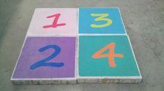 Nummertegel - Symbooltegels