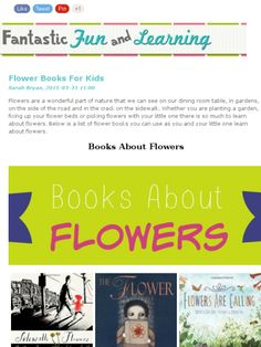 Books About Flowers - Check out this Mad Mimi newsletter