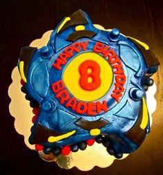 Bey blade cake