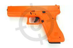 Airsoft Objectives Spring Airsoft BB Gun Pistol HFC Glock 17 HA117 Orange