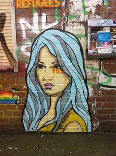StreetArt Hamburg: El Bocho war in der Stadt! Best of Street Hamburg, KW 17