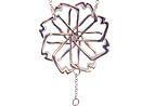 laj-shop   Bijoux Collier, fleur, femme, argent, topaze blanche, necklace, flower, woman, silver, vente en ligne, bijoux femme, créateur.