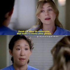 Mer and Yang Grey's Anatomy Tv Show, Grays Anatomy Tv, Cristina Yang, Best Series, Tv Series, Meredith And Derek, Lara Jean, Beautiful Day, Tv Shows