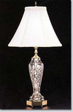52 best waterford images glass waterford crystal crystal lamps rh pinterest com