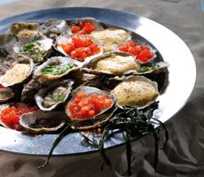 Oesters op drie wijzen Catering, Seafood, Beef, Sea Food, Catering Business, Ox, Food Court, Steak