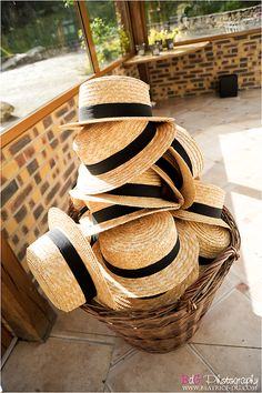 Summer Wedding | hat favors