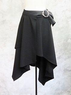 Random Over Skirt (2) EGA-41505BK2 Moi-meme-Moitie APPAREL/ See more at http://www.cdjapan.co.jp/apparel/ #gothic