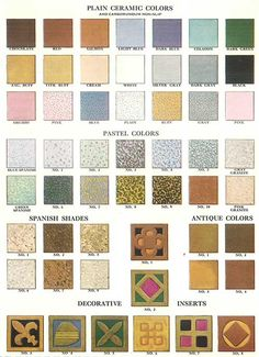 We look in a 1929 Friederichsen Floor & Wall Tile catalog to oogle 112 patterns of vintage mosaic floor tiles. You've gotta see these amazing designs!
