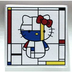 Piet Mondrian!!