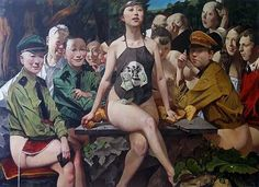 Wei dong. Nacido en 1968 en Mongolia Interior, Wei Dong, como muchos otros intelectuales de su generación, sufrió el período más opresivos de la Revolución Cultural