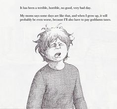 Alexander and the Terrible, Horrible, No Good, Very Bad Day | 16 Classic Children's Books Retold For Adults