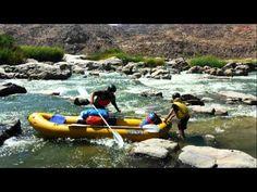 ORANGE RIVER GORGE 5-DAY RAFTING - YouTube