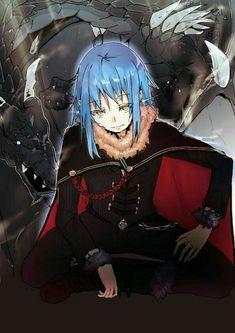 Otaku Anime, Ken Anime, Manga Anime, Fanarts Anime, Anime Demon, Anime Art, Slime Wallpaper, Blue Hair Anime Boy, Character Art