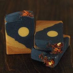 """OJAI BOTANIKA🌙Malina (@ojaibotanika) added a photo to their Instagram account: """"""""Harvest Moon""""🌕🍂🍊This magical soap will be available again in limited quantities tonight, Sunday…"""" Organic Castor Oil, Organic Oil, 100 Pure Essential Oils, Moon Design, Harvest Moon, Shea Butter, Biodegradable Products, Artisan, Pure Products"""