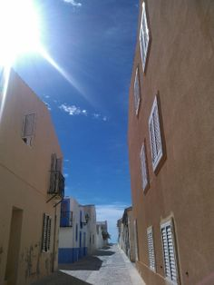 pure spain. sunny day
