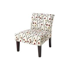 Armless Upholstered Slipper Accent Chair   Gray/Gold Ikat Quick Information  | I Dream Of Ikat | Pinterest | Ikat
