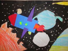Thomas Elementary Art: 1st Grade Rockets in Space