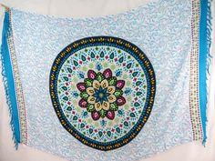 Indian star mandala bohemian retro sarong cover up sun dress $5.25 - http://www.wholesalesarong.com/blog/indian-star-mandala-bohemian-retro-sarong-cover-up-sun-dress-5-25/
