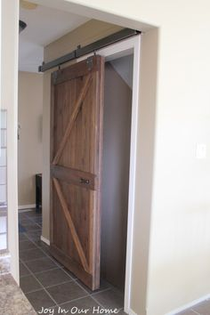 Upcycled Barn Door a