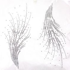 Rhinestone Iron on Transfer Hot fix Motif crystal Fashion Design line decoration | Crafts, Sewing, Other Sewing | eBay!