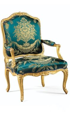 A PAIR OF CARVED GILTWOOD ARMCHAIRS, LOUIS XV, STAMPED I DESESTRE (REGILT)                                                                                                                                                      More