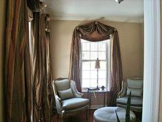 Image of: Modern Drapes Window Treatments