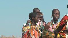 NAROK - JULY 12: Masai women dance on July 12, 2010 in Narok, Kenya.
