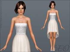 Cocktail dress by BEO - Sims 3 Downloads CC Caboodle