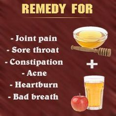 Apple Cider Vinegar and Honey Benefits...been doing this for a week....sounds yummy... although I'm not sure what the difference between Apple cider and Apple cider vinegar is? Can somebody please tell me?