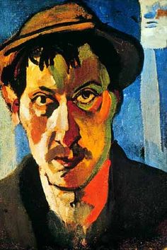Andre Derain, self portrait
