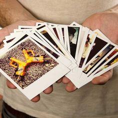 Personalised Polaroid Style Photo Cards