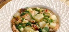 Cucina Pugliese, la ricetta del pancotto con patate rucola e fagiolini