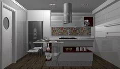 Cozinha selecionada pelo Promob Desafios. Criação Jéssica Coelho. Marcenaria Fábrica D'Marco. #promob