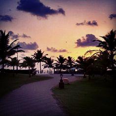 Sunset At Holiday Inn - Goa
