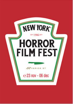 Poster campaign for the NYC Horror Film Fest