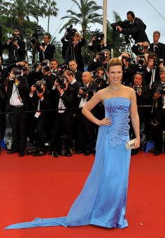 Film Festival Cannes 2013 - Lorie wearing ???