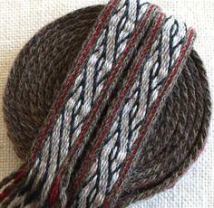Tablet Woven Trim Birka Tablet Weaving Tablet Weaving by inkleing, $85.00