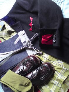 All the components of a smart outfit. Skinhead-Suedehead-Smoothie