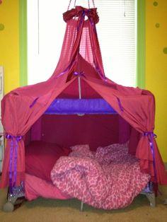 so cute! pack n play pinterest idea! - BabyCenter